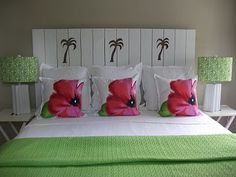"""Jane Coslick Cottages: """"Made in the Shade"""" Shutter Headboard"""