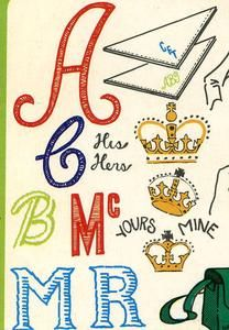 $4.12 Vintage Hand Embroidery Pattern 122 Monograms Letters & Alphabets 1950s | eBay
