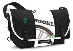 2ab752f6fd7f Limited edition Timbuk2 Messenger bag made from reclaimed banners from the  2011 TD Five Boro Bike