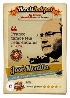 "#HeroisIndepes 17. José Montilla: ""Franco també feia referèndums."""