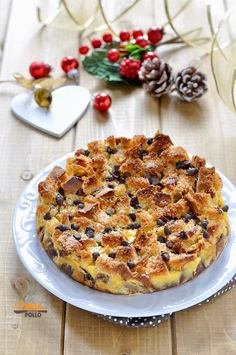 Christmas Desserts, Holiday Treats, Cheesecake Desserts, Dessert Recipes, Italian Cake, Love Food, Sweet Recipes, Food And Drink, Cooking Recipes