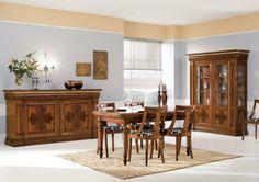 New Sala da pranzo classica Intarsiata Dining Furniture Sets. offers on top store Cosy Living, Dining Furniture Sets, Ideal Home, Dining Table, Interior Design, The Originals, Room, Home Decor, Euro