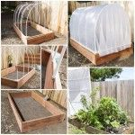 How To Make A Covered Greenhouse Garden