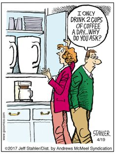 Lol, we're gonna need a bigger coffee maker ☕