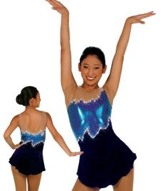 Fun figure skating dress