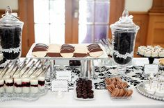 Wedding Candy Buffets By Colour