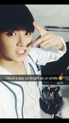 BTS Jungkook snap chat