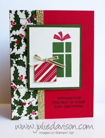 Julie's Stamping Spot -- Stampin' Up! Project Ideas by Julie Davison: VIDEO: Christmas Pop Up Presents Card Tutorial Diy Christmas Cards Pop Up, Diy Holiday Cards, Stamped Christmas Cards, Christmas Pops, Printable Christmas Cards, Homemade Christmas Cards, Stampin Up Christmas, Vintage Christmas Cards, Xmas Cards