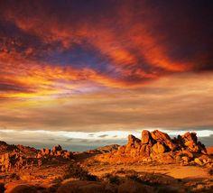 Gobi Desert, Mongolia And China