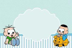 Cebolinha e Cascão Baby - Kit Completo com molduras para convites, rótulos para guloseimas, lembrancinhas e imagens!