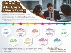 Your testimony at the divorce hearing is one of the most essential elements of your divorce proceeding. Divorce Attorney, Essential Elements, Golden Rule, Played Yourself, Fort Lauderdale, Losing You, It Hurts