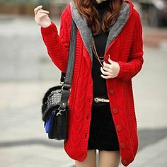 Transition from coat to cardigan <3