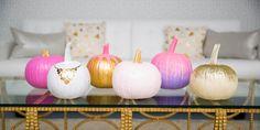 17 No-Carve Ways to Pimp Your Pumpkins for Halloween -Cosmopolitan.com