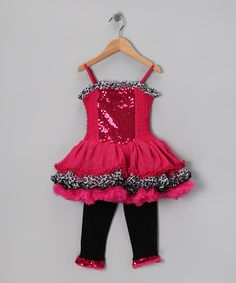 Pink Sparkle Ruffle Dress & Leggings  on #zulily today!  http://www.zulily.com/invite/jpalmer893/p/pink-sparkle-ruffle-dress-leggings-infant-toddler-girls-26970-2210950.html?tid=social_pinref_shareviaicon_na=2210950