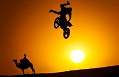 Sanesh Sunny, Freestyle motocross rider