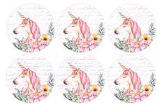 Free Unicorn Birthday Printables – CuteCrafting