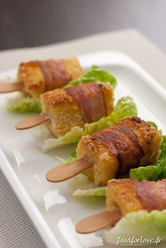 Sucettes de Tomme de Savoie au Lard Fermier @in the food for love