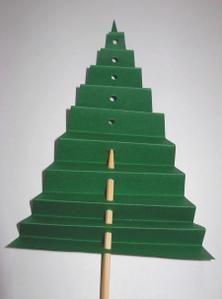 Brico Noël - F... comme Feutrine - Calendrier de… - Carte sapin - Cartes de Noël - Calendrier d'Avent - Sapin express - Avec 10 doigts