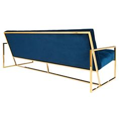 By Jonathan Adler. Pared down geometry in polished brass meets swanky navy velvet in our Goldfinger Collection. A little bit '70s, a lot today. Goldfinger is the winning ticket that adds Modernist rig