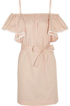Chloé Ruffled cotton dress | THE OUTNET