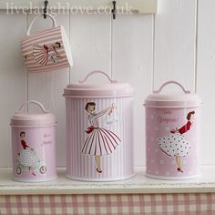 Mrs Smith Canisters - Set of 3