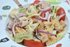 Ensalada de Pasta con Pavo y Albahaca | Y ahora que cocino?