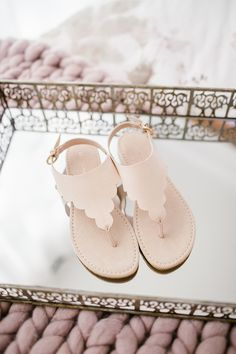 LC Lauren Conrad Scalloped Slingback Sandals  b8074745555
