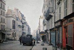 rue des Martyrs en 1914