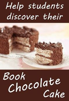 What's Book Chocolate Cake? It's that book that inspires a person, makes them devour a particular title in the same way we devour chocolate cake. No one makes us eat chocolate cake; we eat it because it's awesome! Social Studies Notebook, Teaching Social Studies, Reading Display, Reading Incentives, Library Center, Library Skills, American History Lessons, Library Activities, School Librarian
