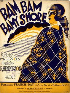 Bam Bam Bamy Shore, 1926 (ill.: Fabien Loris); ref. 1325