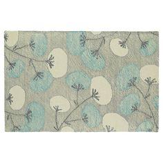 Kaleen Montage Dandelion Floral Wool Rug,