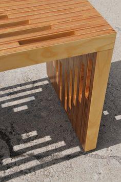 Handmade Plywood Coffee Table