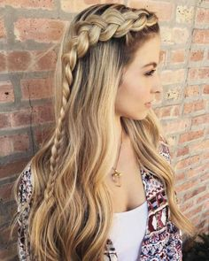 Braids Hairstyles to the Side Best Of 25 Effortless Side Braid Hairstyles to Make You Feel Special – Hairstyless.website Braids Hairstyles to the Side Best Of 25 Effortless Side Braid Hairstyles to Make You Feel Special – Hairstyless. Cute Braided Hairstyles, Cute Hairstyles, Hairstyles 2018, Hairstyle Ideas, Evening Hairstyles, Makeup Hairstyle, Hair Ideas, Hairstyle Braid, Hairstyles Haircuts
