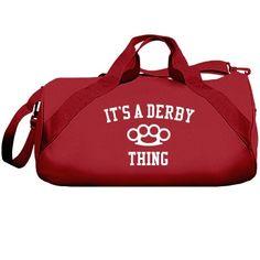 It's a derby thing | Derby bag.