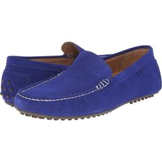 Polo Ralph Lauren Woodley (Blue Sport Suede) Men's Slip on  Shoes ($70) ❤ liked on Polyvore featuring men's fashion, men's shoes, blue, suede tassel loafers mens shoes, mens suede slip on shoes, mens suede loafers, mens blue loafers and mens slip on shoes