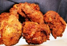Creole Fried 1 whole chicken (about 5 pounds) cut into 8 pieces Essence 2 cups Creole Mustard 2 cups all-purpose flour 2 eggs, beaten 2 tablespoons milk Oil for frying Creole Recipes, Cajun Recipes, Cooking Recipes, Drink Recipes, Keto Recipes, Creole Cooking, Cajun Cooking, Cajun Food, Louisiana Recipes