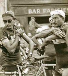 Couple cycling legends about to throw down