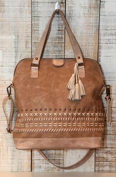 Lederen tas, Oversized crossbody tas, licht bruin lederen handtas, grote schoudertas