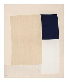 "Ethan Fielding Cook Untitled 24""x30"" Hand woven cotton canvas, 2013"