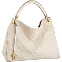 Beige Louis Vuitton Artsy MM M93449 Tote Bags