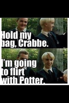 Drarry. I love this.