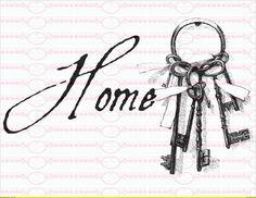 Vintage+Home+Schlüssel+++Bügelbild+Shabby+++DIN+A4+von+Doreen`s+Bastelstube++-+Kreativ+&+Außergewöhnlich+auf+DaWanda.com