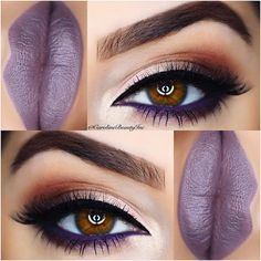 "✨C.A.R.O.L.I.N.E✨ on Instagram: ""Feeling Purple What do you guys think of this combo?  __________________________________________________ ✨ @Monapetre @be_glamourous_ MISSMONA lashes (Use code: MISSMONA ) ✨ @toofaced Shadow Insurance Primer, Toofaced New Chocolate Bon Bons Palette Eyeshadows This palette is not yet available & will be available online in December❗️ ✨ @tartecosmetics Tarteist Gel Eyeliner for that perfect wing✔️ ✨ @Toofaced Better than Sex Mascara ✨ @paintedeart"