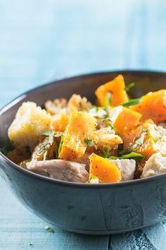 Single Pan Roasted Butternut Squash Dinner