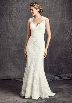 Kenneth Winston: Ella Rosa Collection BE284 Wedding Dress - The Knot