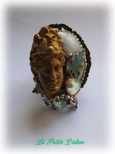 Ring, double face, antique, mythology, greece, Greek, mythology, mystique,  fancy ring, oval ring, big ring, antique jewelry, mystical 0c7b76cd8aee