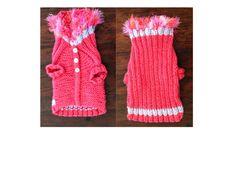 Diva Pink Dog Sweater - B*tchin' Knits