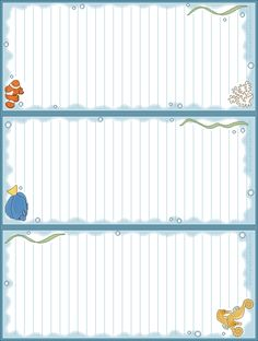 Printable Lists - Lots of free printables here!! -- seals1.png (638×845)