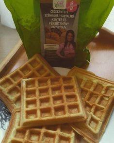 Éhezésmentes karcsúság Szafival - Paleo gofri Waffles, Keto, Breakfast, Foods, Diets, Morning Coffee, Food Food, Food Items, Waffle