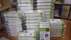 Different of Cricut Cartridges to Choose From - All Brand New & Sealed!!!